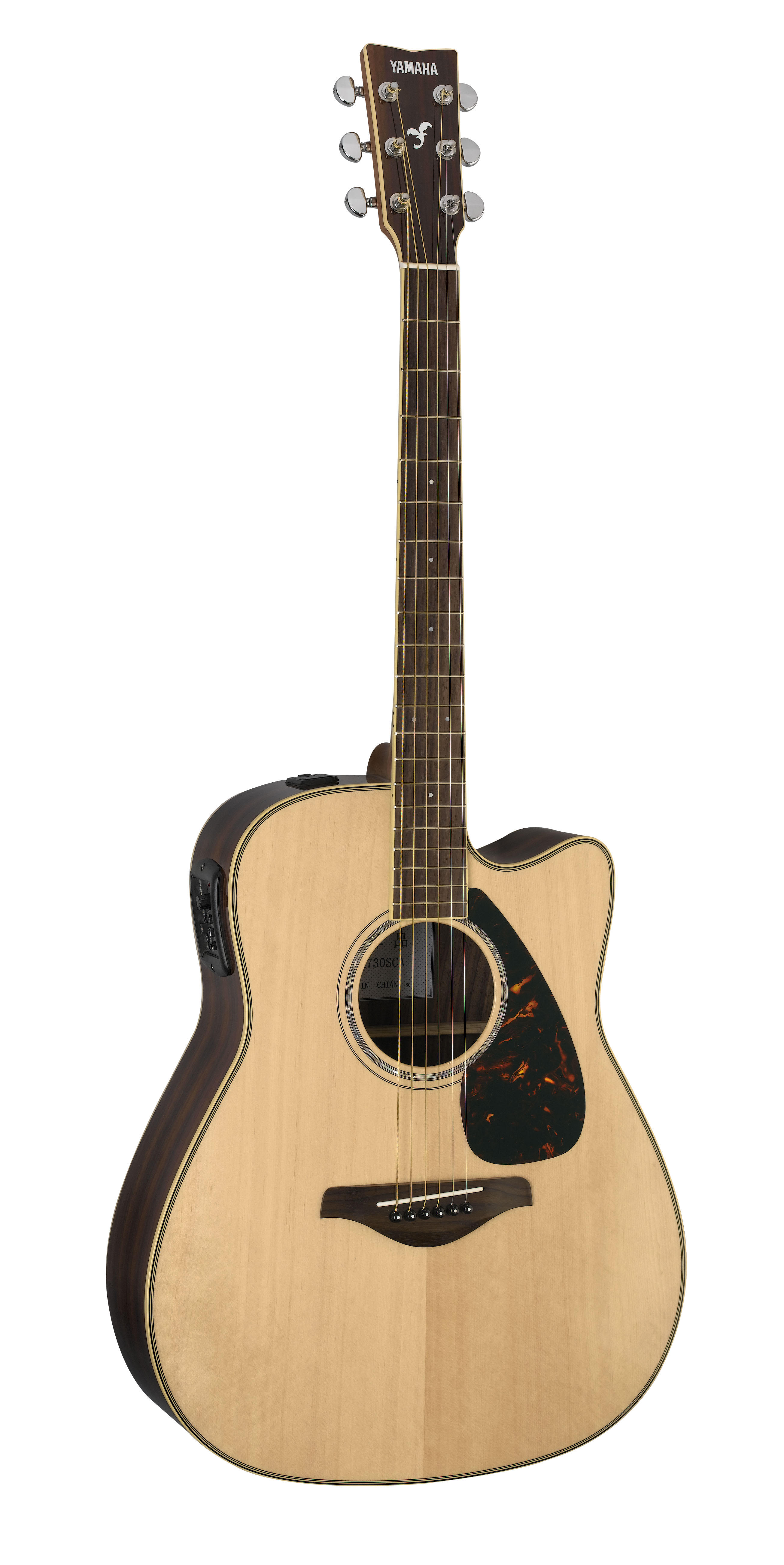 Yamaha FGX730SCA Acoustic-Electric Guitar