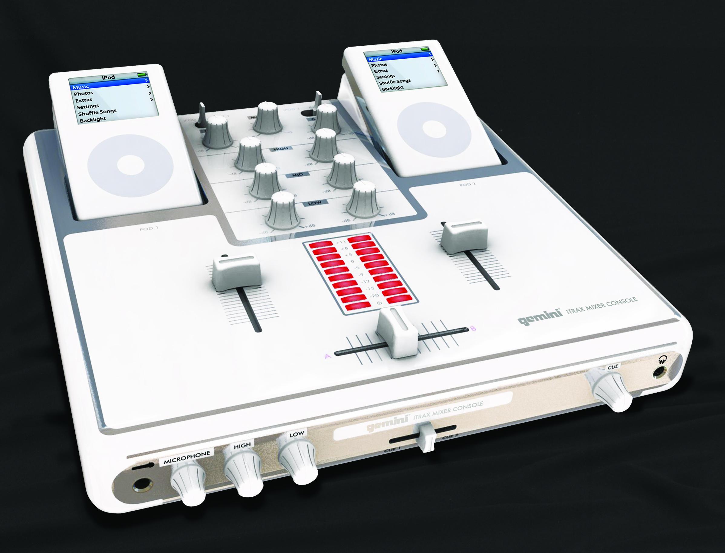 Gemini DJ iTrax iPod Mixing Console