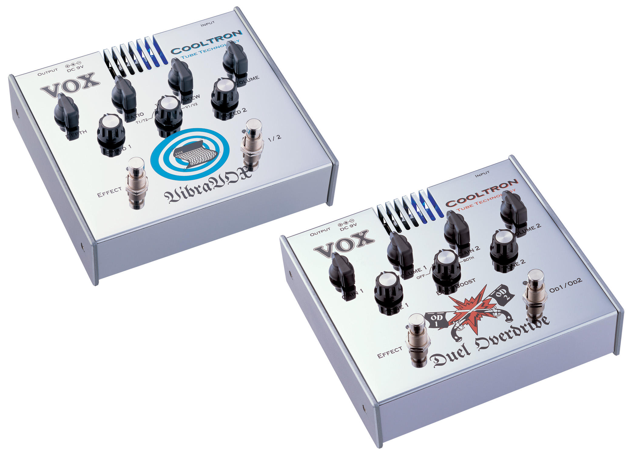 VOX COOLTRON Tube-Driven Effects Pedals