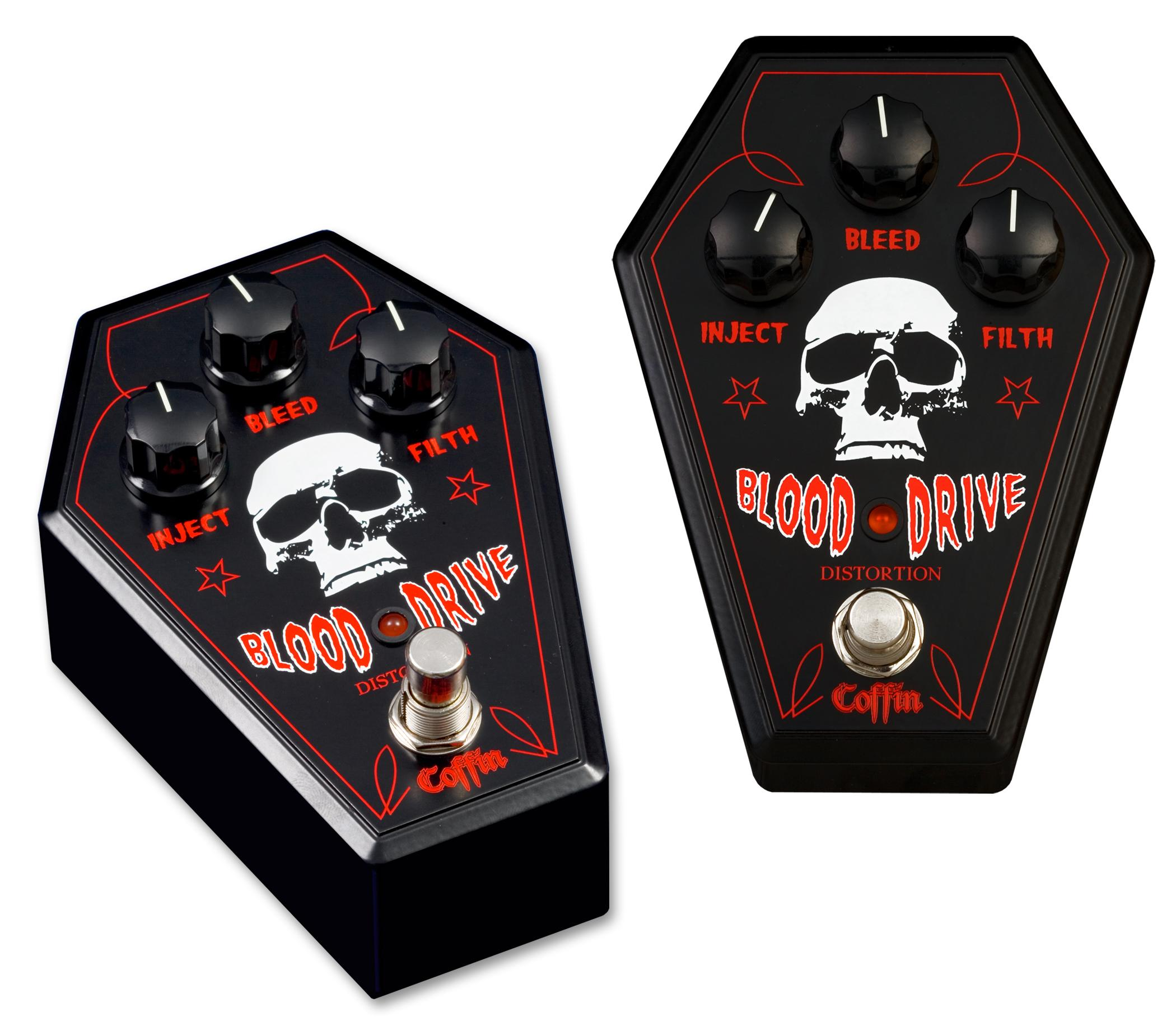 Coffin Case Blood Drive Effects Pedal