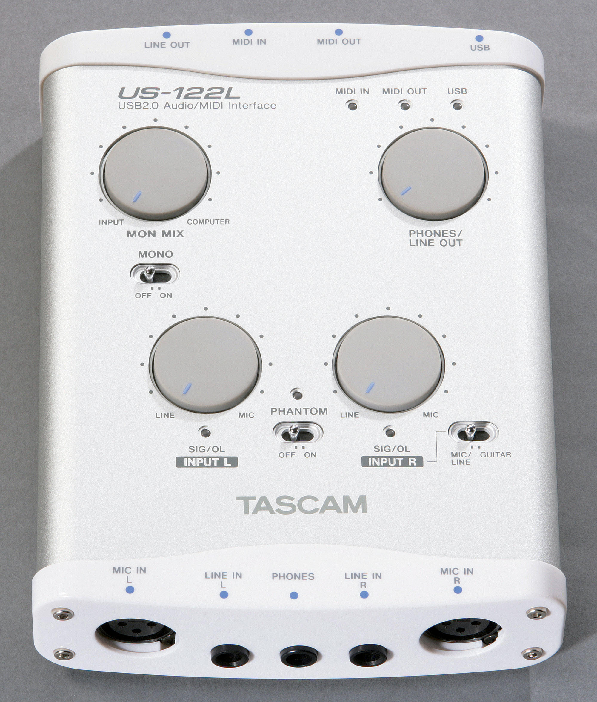 TASCAM New USB 2.0 Audio/MIDI Interfaces