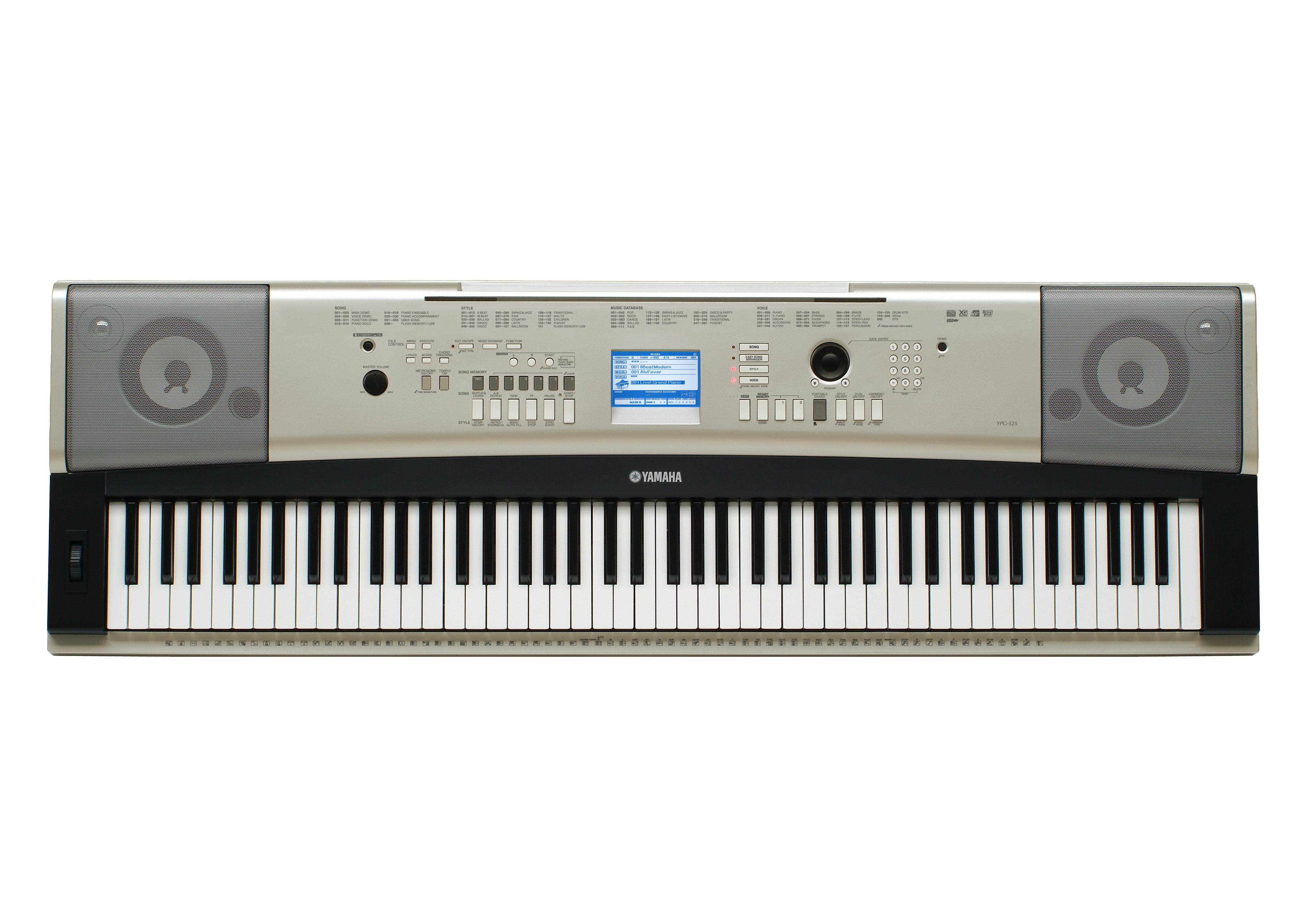 Yamaha YPG Series Portable Keyboards