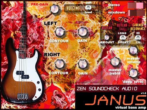 Zen Soundcheck Audio Releases Janus – PC VST Virtual Bass Amp