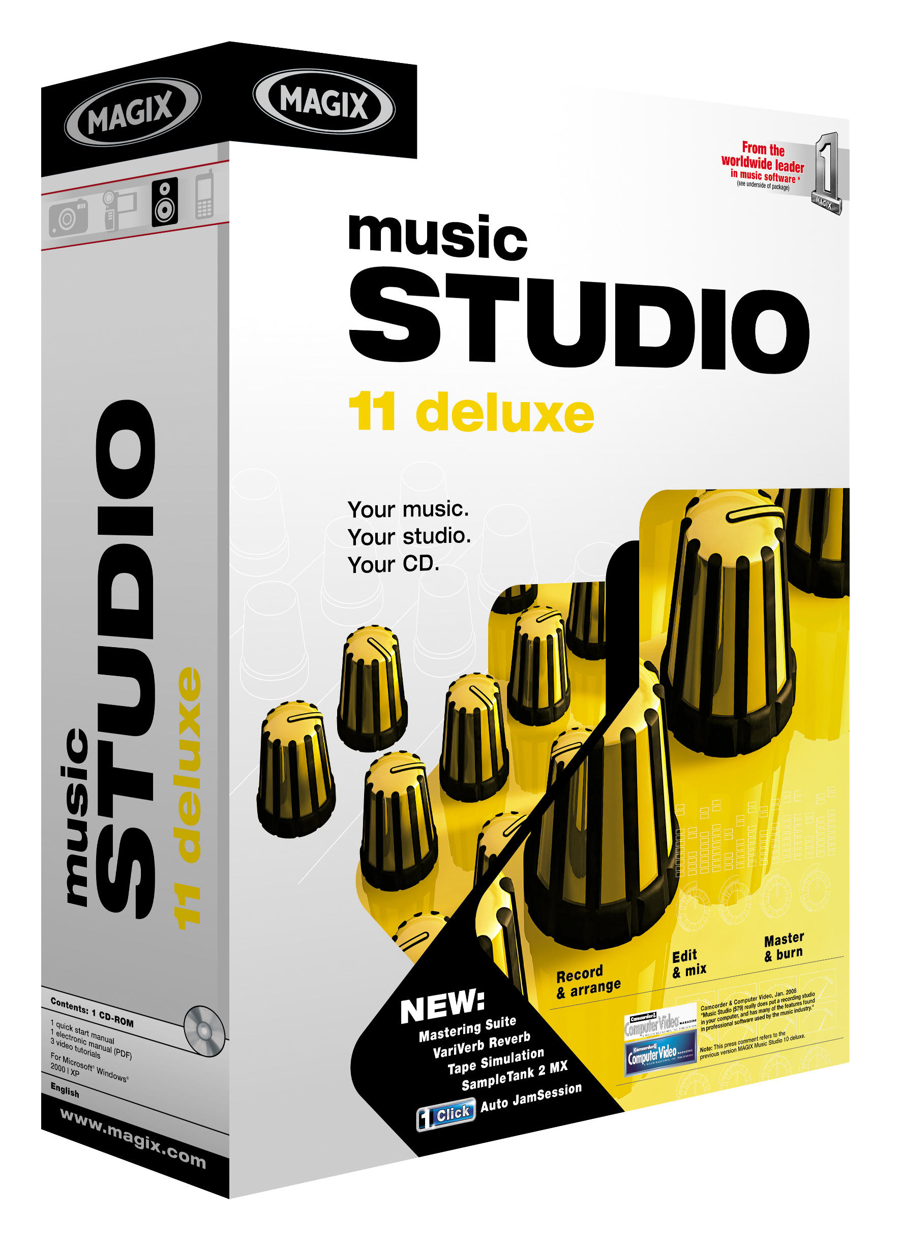 Magix Introduces Music Studio 11 Deluxe Planet Musician