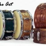 "Phattie Drums ""Sounds Like Art"" Series Custom Snare Drums"