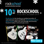 10% off All Rockschool Titles