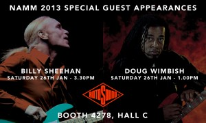 Billy Sheehan and Doug Wimbish  NAMM 2013 Artist Appearances