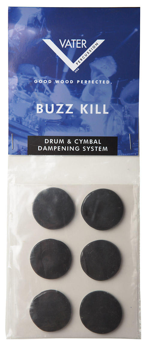 Best Hearing Protection >> Vater Introduces The Buzz Kill Drum Dampening System And ...
